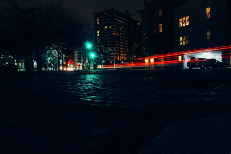 Urban Landscape... Paterson Ave in Hoboken